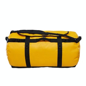 North Face Base Camp XX Large Duffle Bag - Summit Gold TNF Black