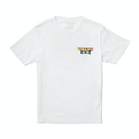 Volcom Day Waves , Kortermet t-skjorte Boys - White