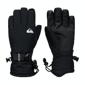 Quiksilver Mission You Boys Snow Gloves - Black