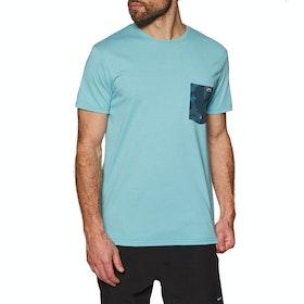 Billabong Team Pocket Short Sleeve Surf T-Shirt - Aqua
