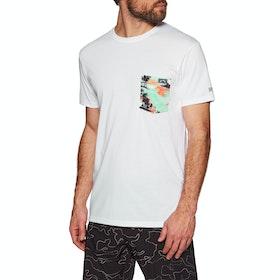 Billabong Team Pocket Short Sleeve Surf T-Shirt - White