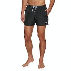Pantaloncini da Bagno Emporio Armani 5 - Nero