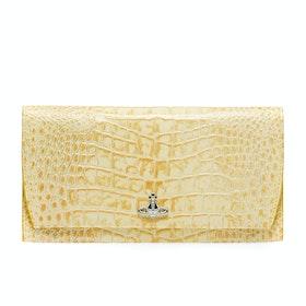 Carteira Senhora Vivienne Westwood Dora Travel - Yellow