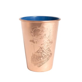 Кружка United by Blue Constellation Canyon 16oz Copper Enamel Lined Tumbler - Blue