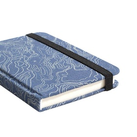 United by Blue Recycled Paper Mini Journal Book - Navy