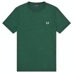 Fred Perry Ringer Men's Short Sleeve T-Shirt - Ivy