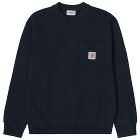 Carhartt Pocket , Genser - Dark Navy