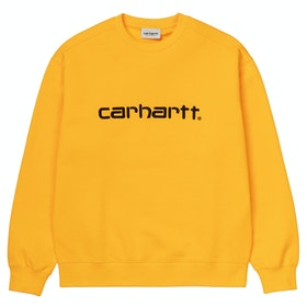 Carhartt Classic Ladies Sweater - Sunflower / Black
