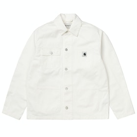 Kurtka Damski Carhartt Michigan Coat - Off-white
