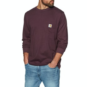 Carhartt Pocket LS-T-Shirt - Shiraz
