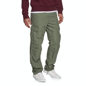 Bojówki Carhartt Regular - Dollar Green Rinsed