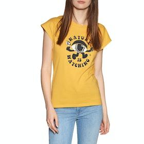 Volcom Dare T Shirt Womens Short Sleeve T-Shirt - Sunrise