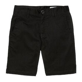 Volcom Frickin Chino Short Boys Shorts - Black