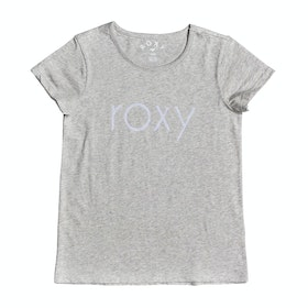 Roxy Endless Music Flock Girls Short Sleeve T-Shirt - Heritage Heather