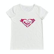 Roxy Endless Music Print C Girls Short Sleeve T-Shirt