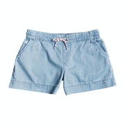 Roxy Set Free Denim Girls Shorts