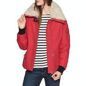 Belstaff Barnsdale Women's Down Jacket - Lava Red