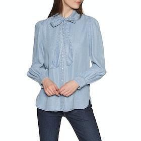 Maglietta Donna Lauren Ralph Lauren Koury - Pale Blue Wash