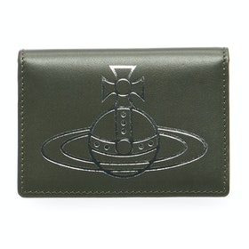 Vivienne Westwood Anna Small Womens Card Holder - Green