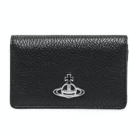 Card Holder Senhora Vivienne Westwood Flap - Black