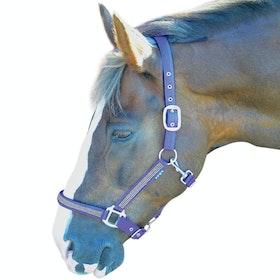 Hy Diamante Head Collar - Brilliant Blue