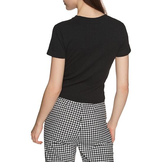Afends Juliette Rib Womens Short Sleeve T-Shirt