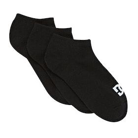 DC SPP DC Ankle 3pack Socks - Black