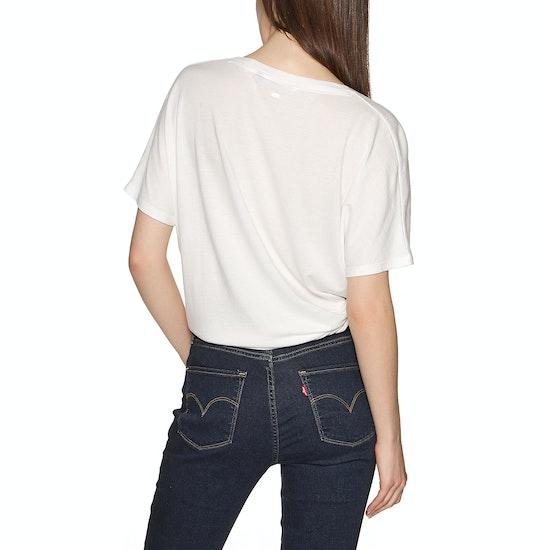 T-Shirt à Manche Courte Femme O'Neill Essentials Drapey