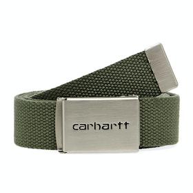 Ceinture en Tissu Carhartt Clip Chrome - Dollar Green