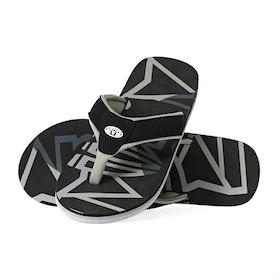 Animal Bazil Sandals - Black