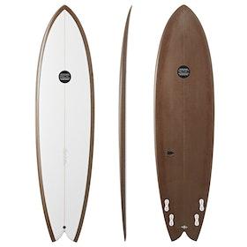 Maluku ArchFishop FCS II Quad , Surfboard - Bronze
