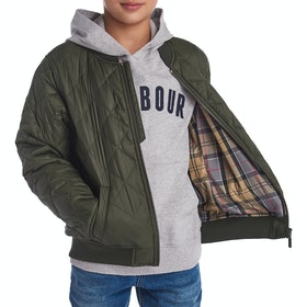 Barbour Gabble Quilted Jacket - Olive
