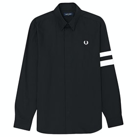 Fred Perry Tipped Hemd - Black