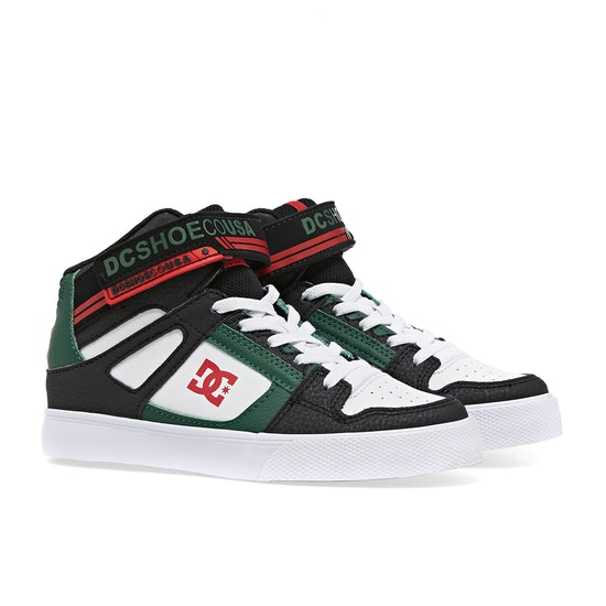 DC Pure High Top EV Boys Shoes