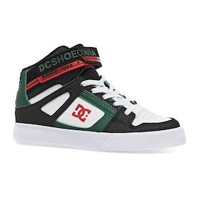 Chaussures DC Pure High Top EV - Black Green