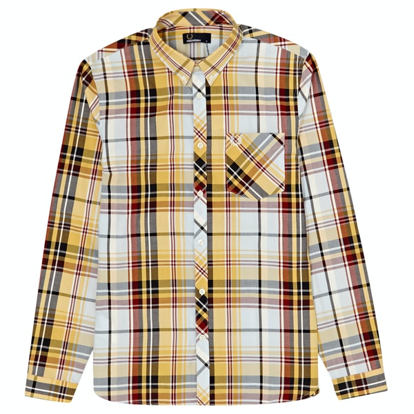 Fred Perry Madras Check LS Shirt