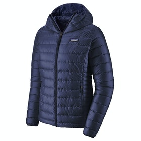 Patagonia Sweater Hooded Ladies Down Jacket - Classic Navy
