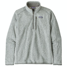 Patagonia Better Sweater Quarter Zip Fleece - Stonewash