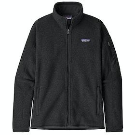 Patagonia Better Sweater Dame Modejakke - Black