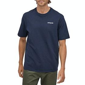 T-Shirt à Manche Courte Patagonia P-6 Logo Responsibili Tee - Classic Navy