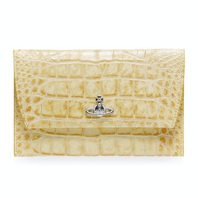 Bolsa de Acessórios Senhora Vivienne Westwood Dora Passport - Yellow