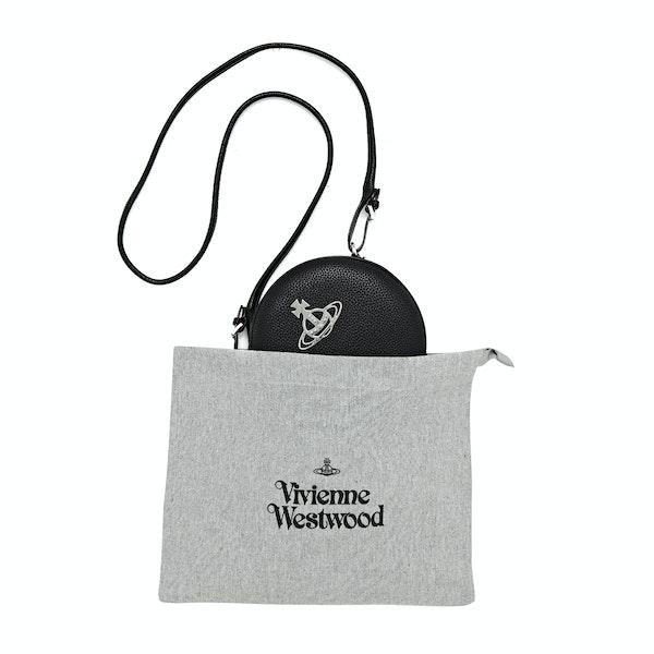 Vivienne Westwood Johanna Round Vegan Dames Schoudertas
