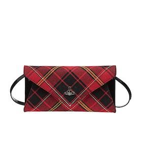 Дамская сумка Женщины Vivienne Westwood Lisa Envelope - Red Black