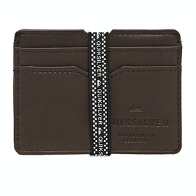 Quiksilver Floker Wallet - Chocolate Brown