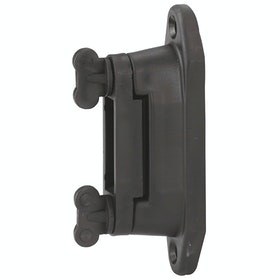 Corral Corner and Distance Insulator for Electric Fencing - Black
