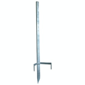 Corral Multi Post for Electric Fencing - Silver