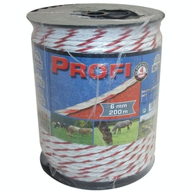 Corral Profi Rope 200m Electric Fencing - White
