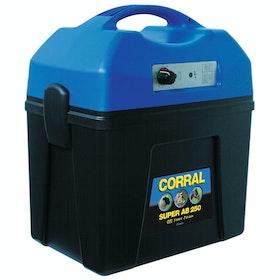 Corral Super AB 250 Rechargeable Battery Unit for , Elektriska stängsel - Black Blue