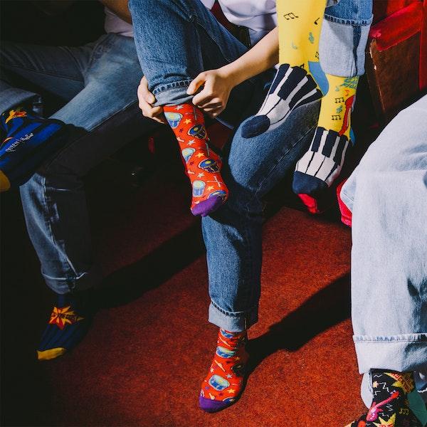 Happy Socks Radio Ga Ga Fashion Socks