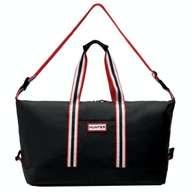 Hunter Original Lightweight Rubberised Holdall Duffle Bag - Black